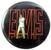 Elvis Presley - 'On Stage' 56mm Badge